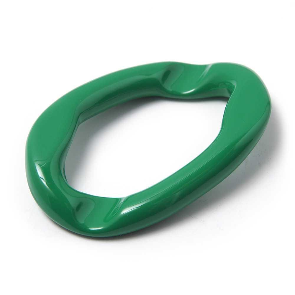 Anilla Eslabón Grande. Pintada en color verde.