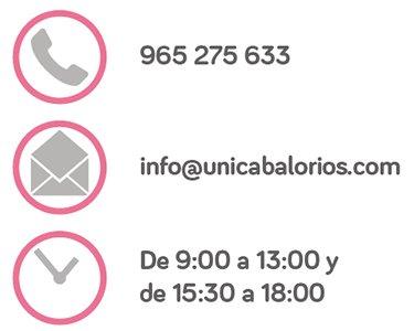 Datos de contacto.